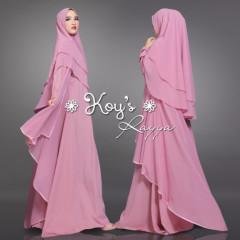 Rayya Syari Dusty Pink