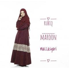 Rubiq Maroon by Mecca Syari