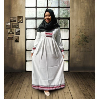 Si Fashion kode 109-195 white grey