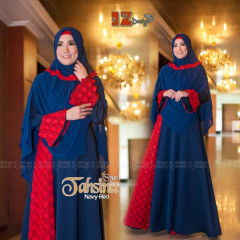 Tahsina Syari Navy red