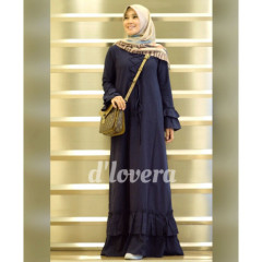 gamis modern zivana dress navy