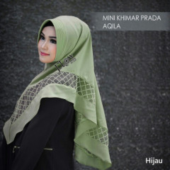 mini-khimar-prada-aqila green