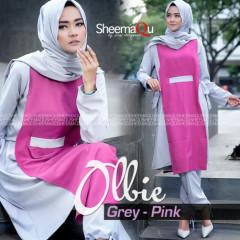 ollbie by sheemaqu grey pink