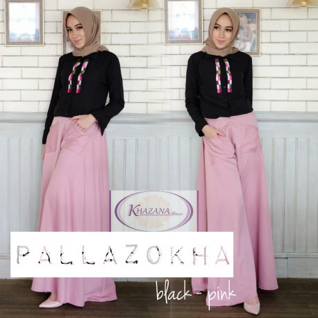 pallazokha by khazana btari black pink
