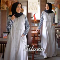 Alya Dress Silver