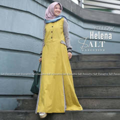 Helena Dress Yellow