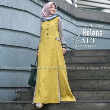 Helena Dress Yellow