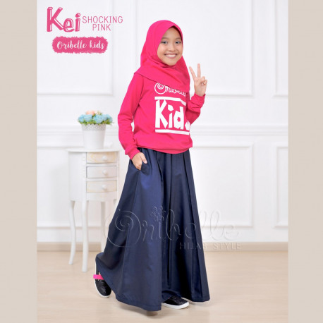 Kei Shocking Pink by oribelle