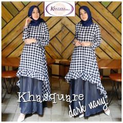 Khasquare by khazana Dark Blue
