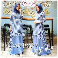 Khasquare by khazana Light Blue