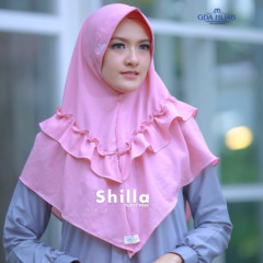 Khimar Shilla Pink