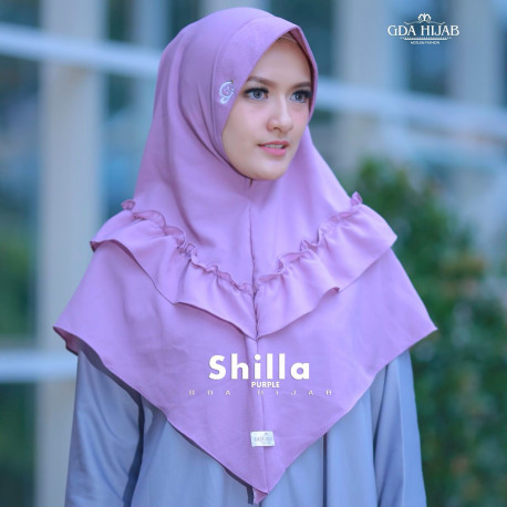 Khimar Shilla Purple
