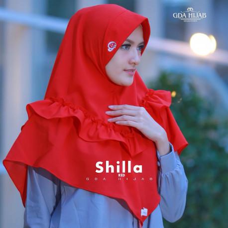 Khimar Shilla Red