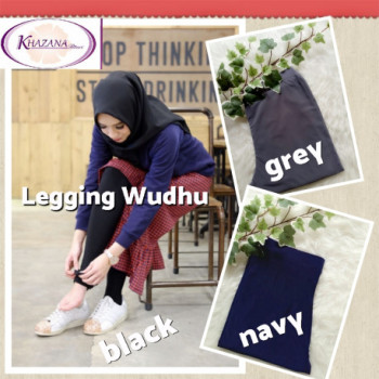 Legging Wudhu Grey