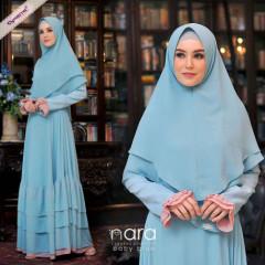 Nara Syari By Cynarra Baby Blue