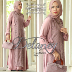 Delaney Flamingo Pink