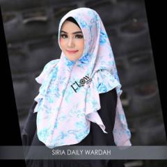 Jilbab Siria Wardah Pink