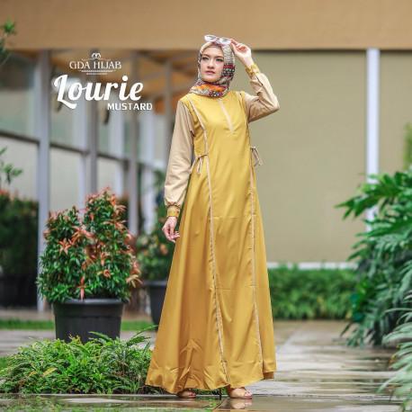 Lourie Dress Mustard
