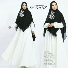 Shiraaz Gs078 White
