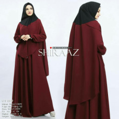 Shiraaz Gs089 Maroon