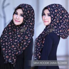 Siria Zaina Flower Black