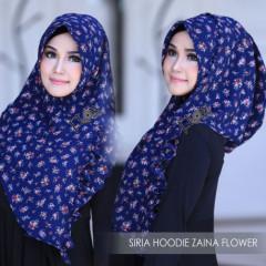 Siria Zaina Flower Navy