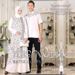 Yashwin Couple White