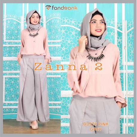 Zanna 2 Pink Grey