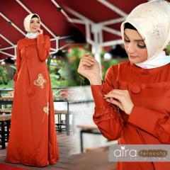 Aira Hijab Teracota