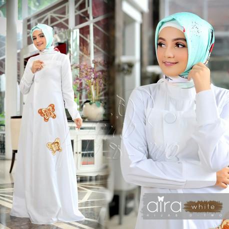 Aira Hijab White