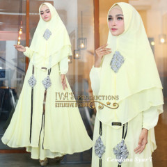 Cendana Syari Soft Yellow