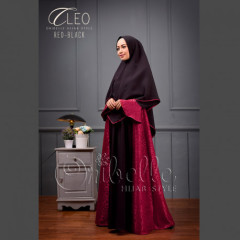 Cleo Syari Red Black