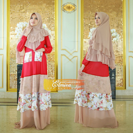 Elmira Soft Mocca Red