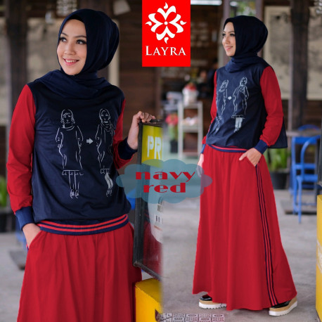 Gea Navy Red