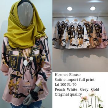 Hermes Blouse