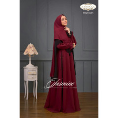 Jasmine by Sheemaqu Maroon