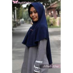 Jilbab Afna Navy