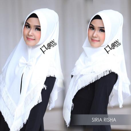 Jilbab Siria Risha Broken White