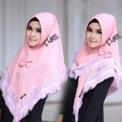 Jilbab Siria Risha Pink