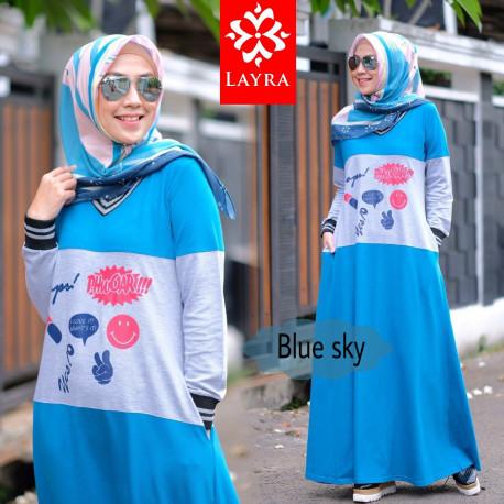 Kayla Dress Blue Sky