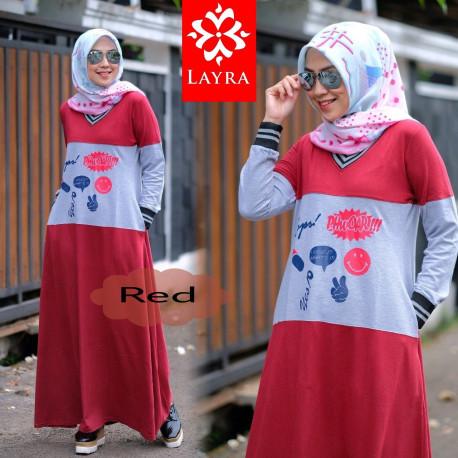 Kayla Dress Red