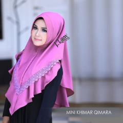 Mini Khimar Qimara Lavender