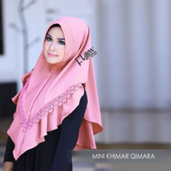 Mini Khimar Qimara Pink