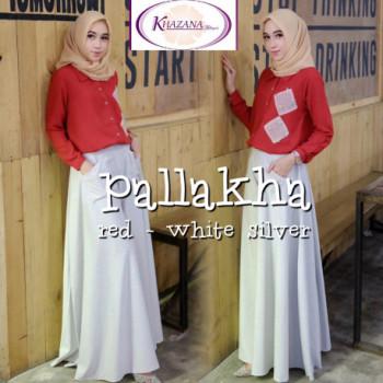 Pallakha Set Red White