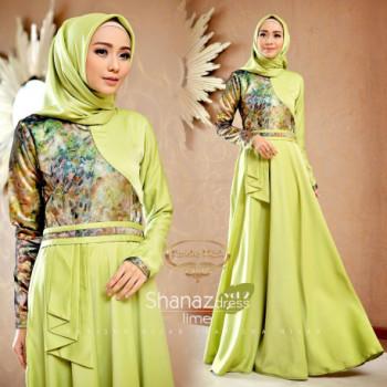 Shanaz Dress Lime