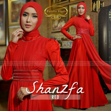 Shanzfa Dress Red