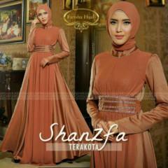 Shanzfa Dress Teracota