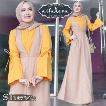 Sheva Dress Mocca