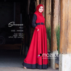 Sirenna Dress Maroon