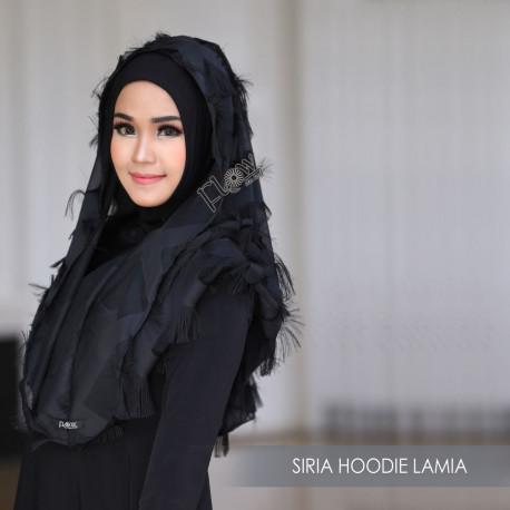 Siria Hoodie Lamia Black